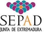 Logo Servicio Extremeño de Promoción de la Autonomía y Atención a la Dependencia